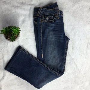 True Religion Becky Bootcut Dark wash Jeans 29X26